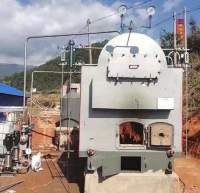 缅甸卧式1吨燃生物质 木块蒸汽热博rb88体育app